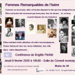 Femmes remarquables de l'Isère