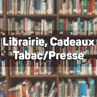 Librairie, cadeaux, presse