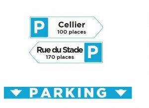Panneaux parkings Vif