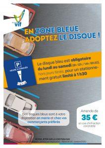 Flyer zone bleue