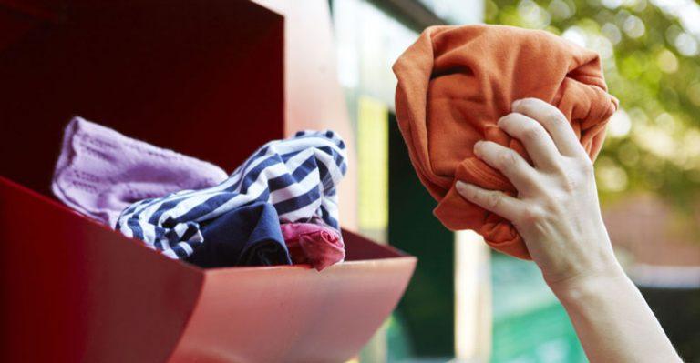 Collecte de textiles métropole