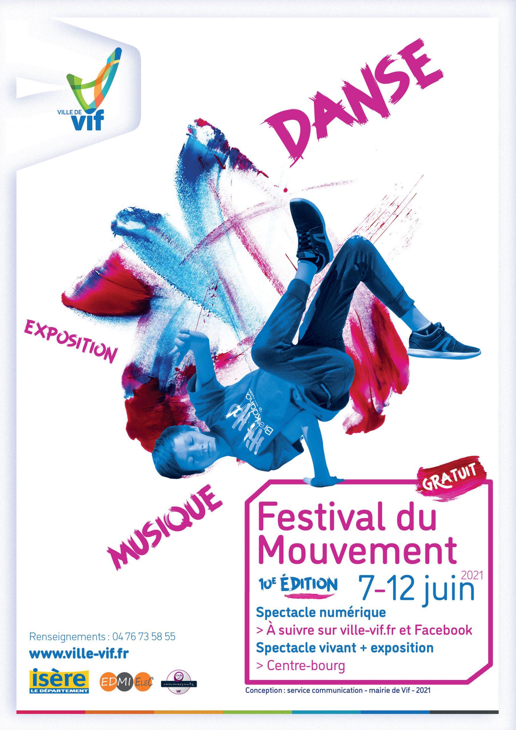 Agenda - Festival du Mouvement 2021
