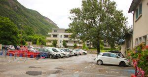 Parking salle des fêtes