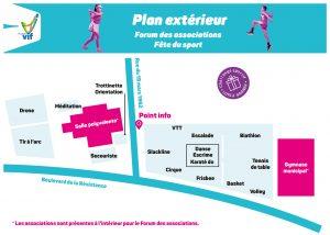 Plan 1 - forum des associations